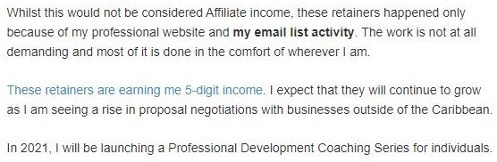 The Wealthy Affiliate program works