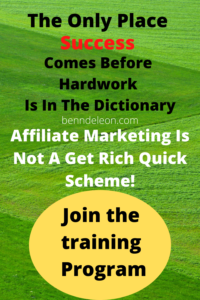 Join the program to learn affiliate marke