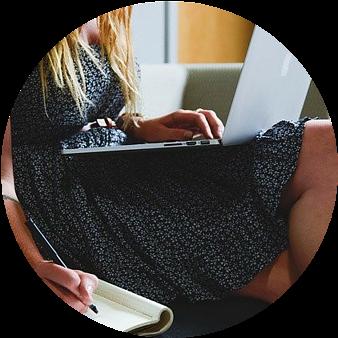 freelance writing - Side hustle for single parents