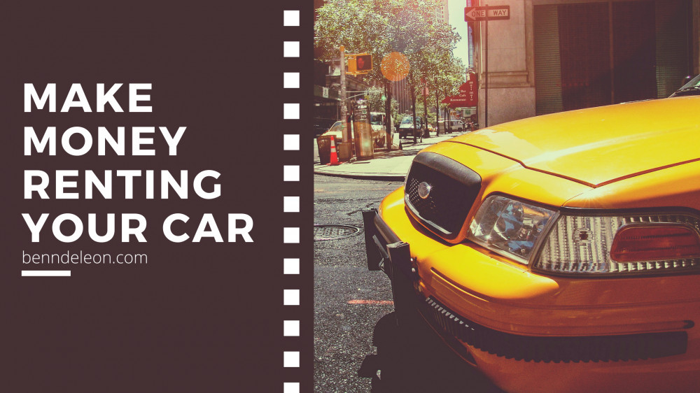 Make money by renting your car
