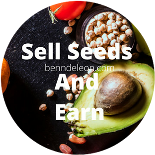 Sell seeds and Earn