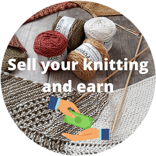 sell your knitting and earn