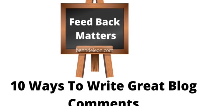 10 Ways To Write Great Blog Comments